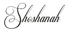 Shoshanah Signature