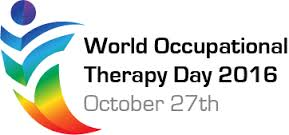 Logo of World OT Day Prepared by the World Federation of Occupational Therapists