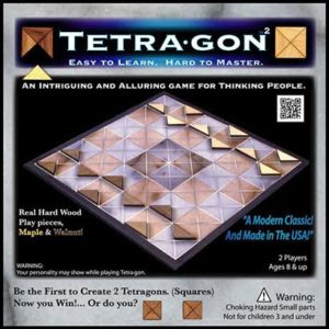 Photograph of game called Tetra-gon