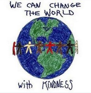 "Circling the world with words: ""We can change the world with Kindness"""