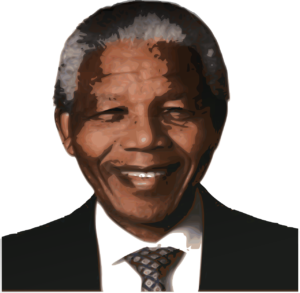 An Image of Nelson Mandela for Mandela Day